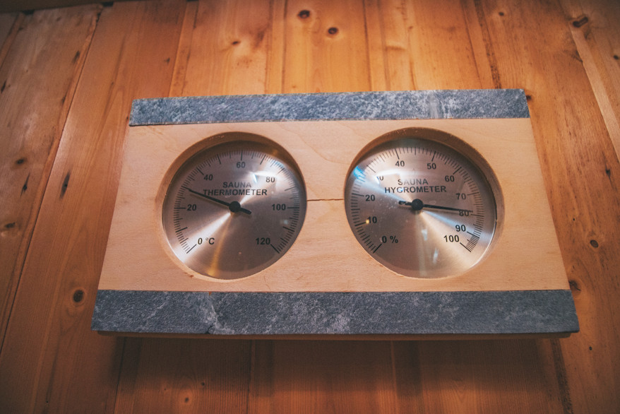 Termómetro Sauna
