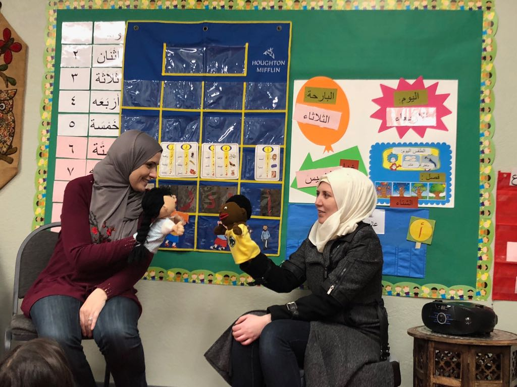 Montessori trained teachers