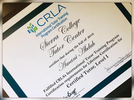 ALEFE teacher fulfills CLRA program