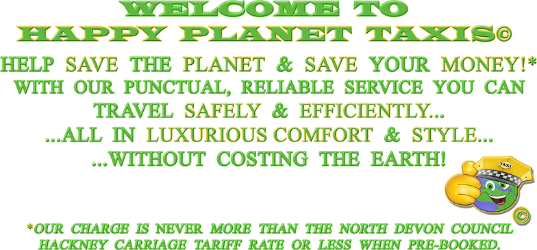 HELP SAVE THE PLNET AND SAVE YOUR MONEY WITH OUR PUNCTUAL RELIABLE SERVICE YOU CAN TRAVEL SAFELY AND EFFICIENTLY ALL IN LUXURIOUS COMFORT AND STYLE WITHOUT COSTING THE EARTH