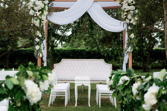 Outdoor Solemnization Ceremony