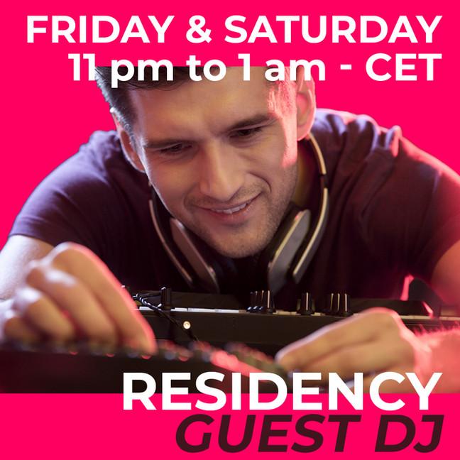 Residency guest dj
