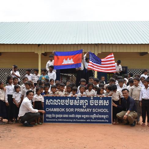 New School in Chambok Sor Village