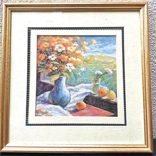 Tableau de décoration Floral & Poires