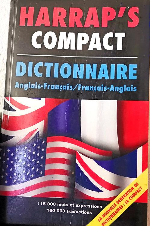 Dictionnaire Harrap's Anglais-Français/ Français-Anglais