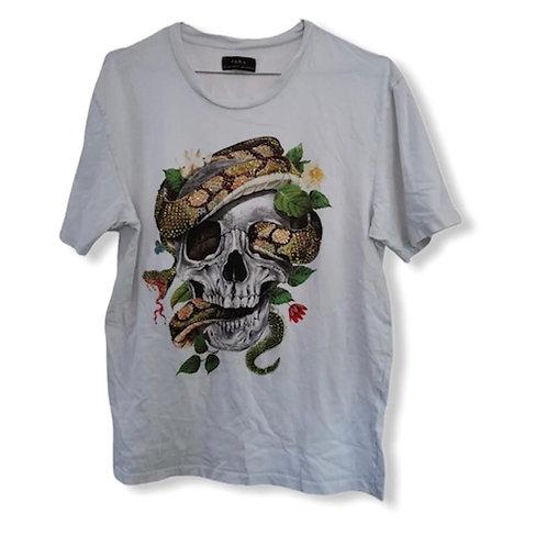 T-shirt Homme Blanc Coton