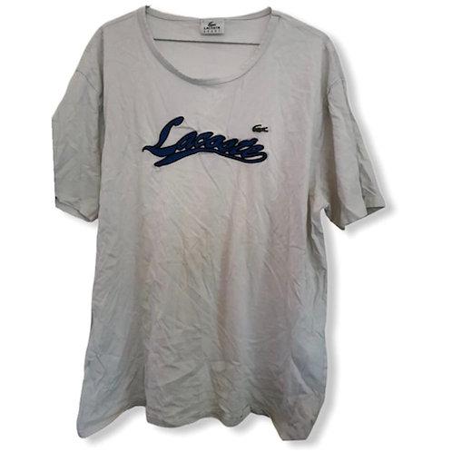 T-Shirt Blanc LACOSTE pour Homme