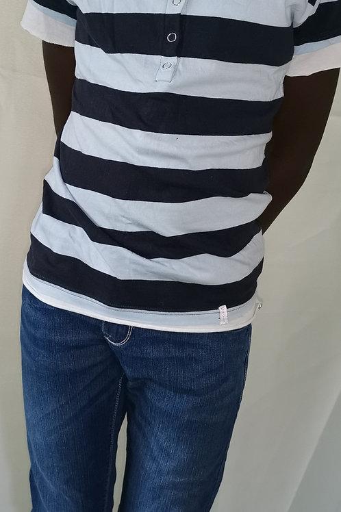 ensemble jean tee-shirt marin