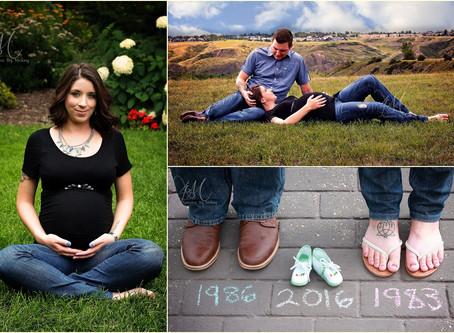 Kim and Brian Maternity