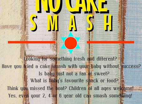 The No Cake Smash!