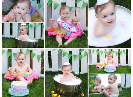Isabella Turns 1!