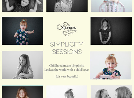 Introducing, Simplicity Sessions