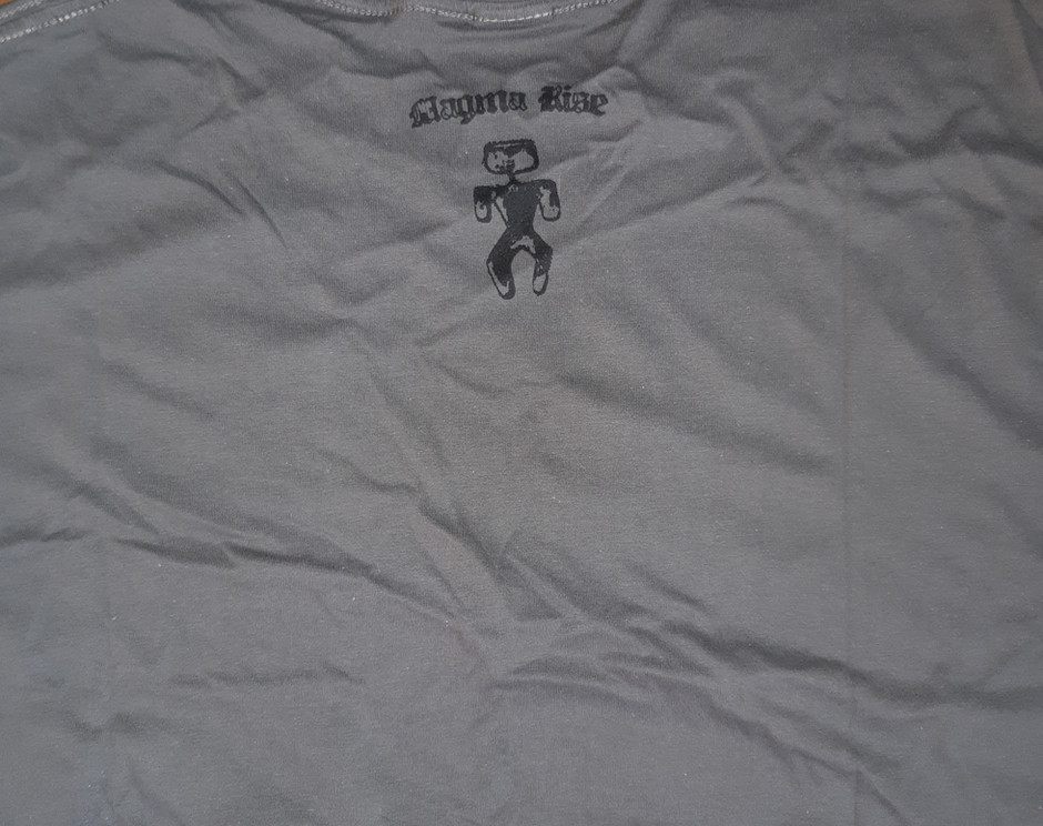 """""""The man in the maze"""" back-grey/M-L only"""