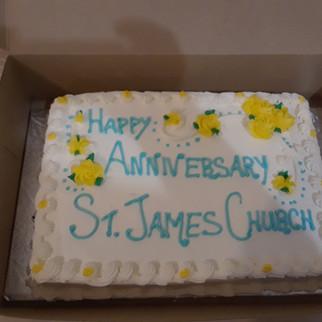 St. James of the Apostle 154th Anniversary Celebration