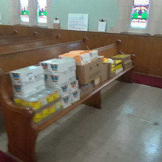 Mission Month 2018 - Donations to Salvation Army