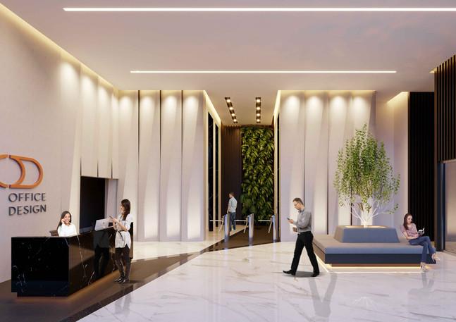 Área de Atendimento - Office Design Cascavel