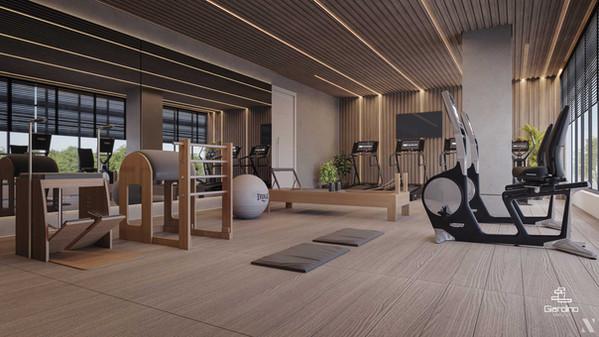 Área Comum   Espaço Fitness