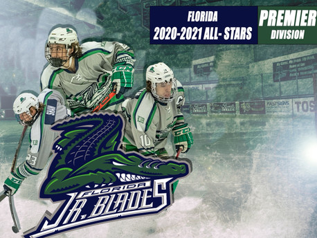 Three Former Blades Make the 2020-2021 USPHL Florida Premier Division All-Star Team