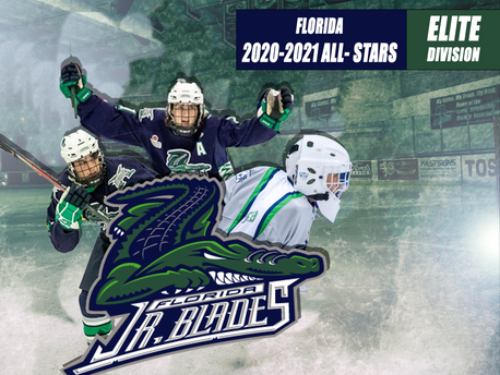 Three Florida Jr. Blades Make USPHL 2020-2021 Florida Elite Division All-Stars