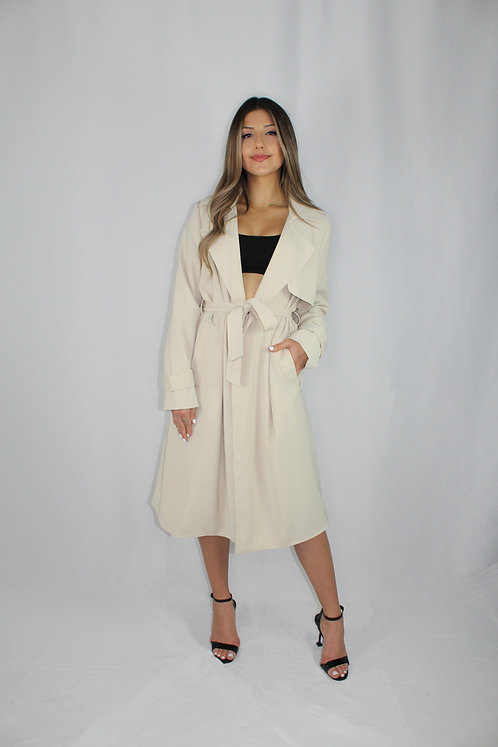 Giselle Trench Coat - Tan