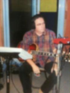 Steve in studio