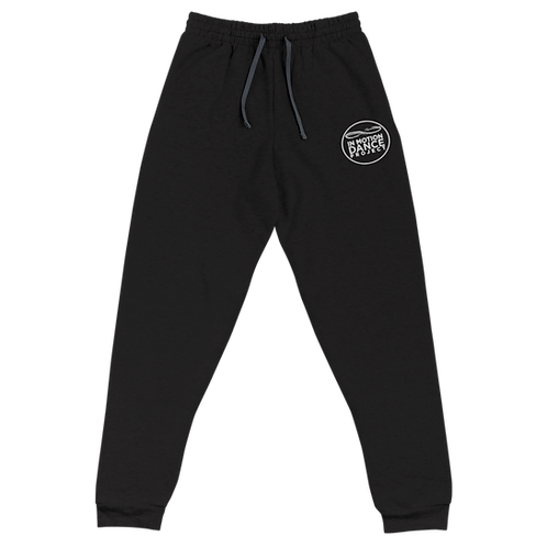 Embroidered Logo Unisex Joggers