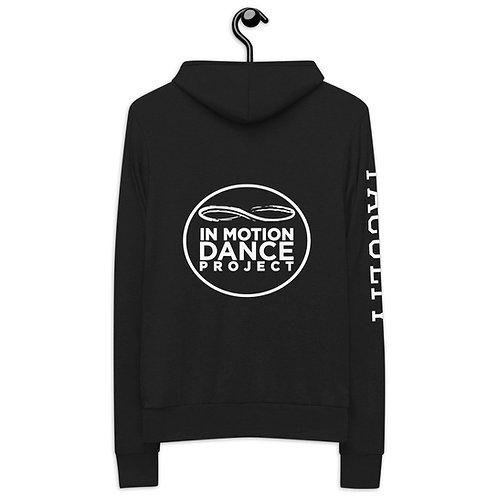 Unisex zip hoodie FACULTY on sleeve
