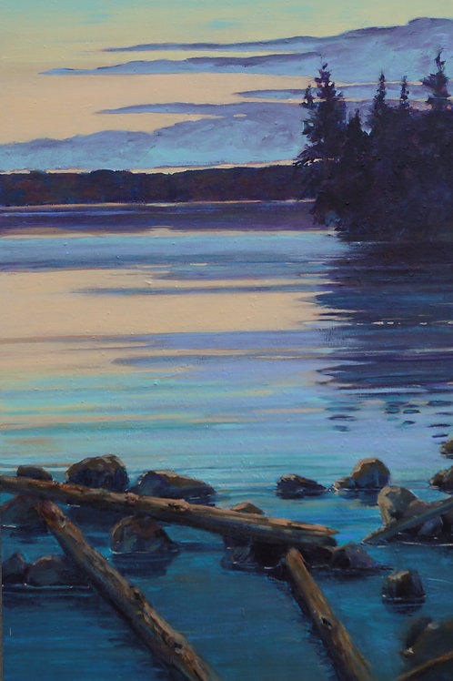"Northern Lake-24x36"""