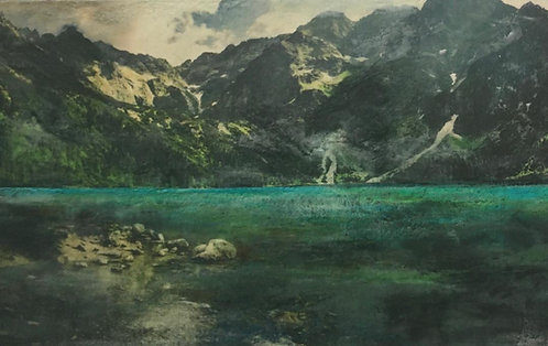 Summer in the Mountains, 24x40