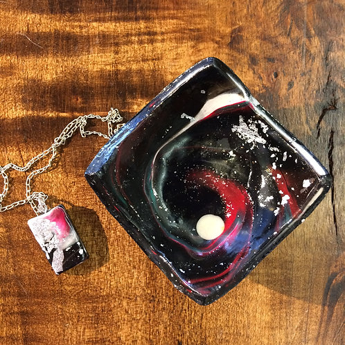 Galaxy Bowl and Pendant #5