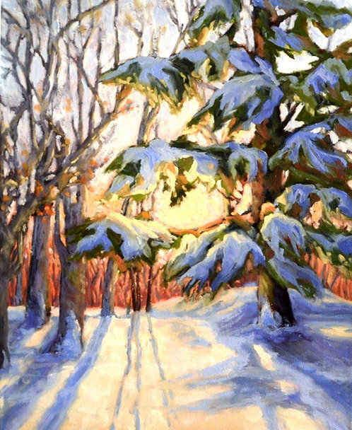 "Good Morning Winter-16"" x 20"""