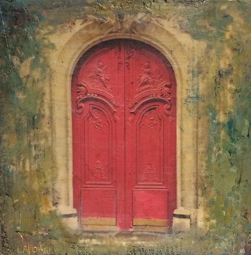 Red Door of Paris