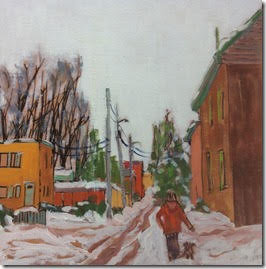 Winter Day - Hintonburg
