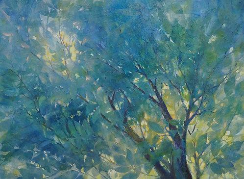 """Summer Foliage-36x48"""""""