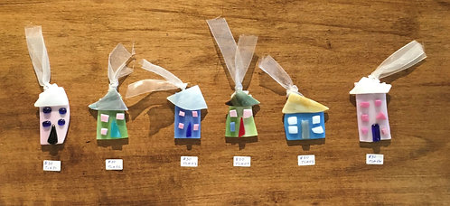 Tiny Candy Houses Ornament (TCH#1-6)
