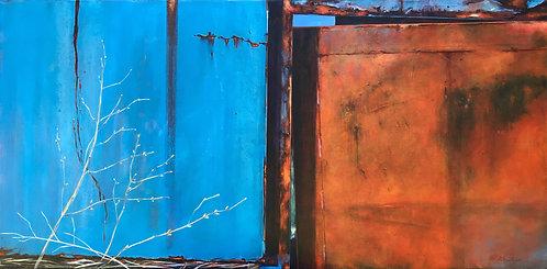 Scrapyard blue