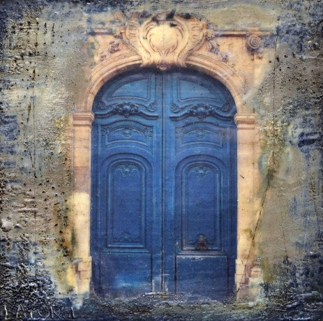 Portals Of Paris, Blue Door
