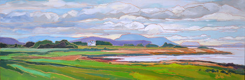 """Norway: Waiting for the Ferry-30x10"""""""