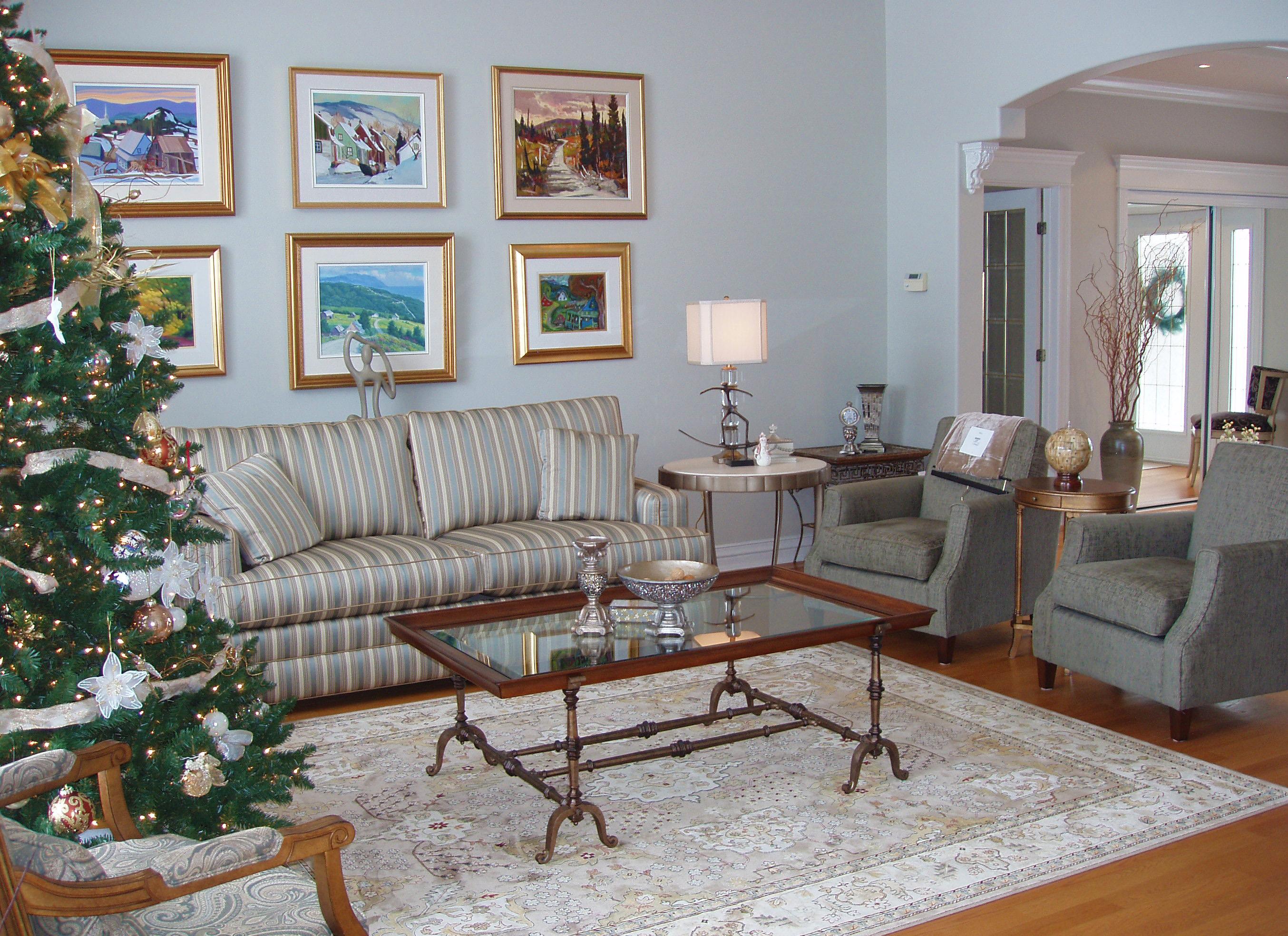 Residential Home Design - Living Room