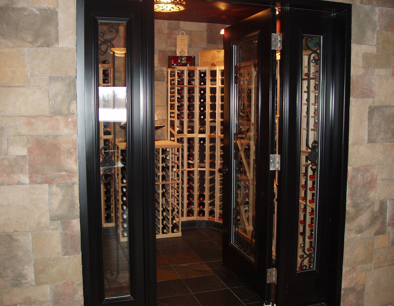 Wine Cellar - Entry way
