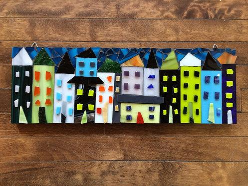 """Little Houses V-18x6"""""""