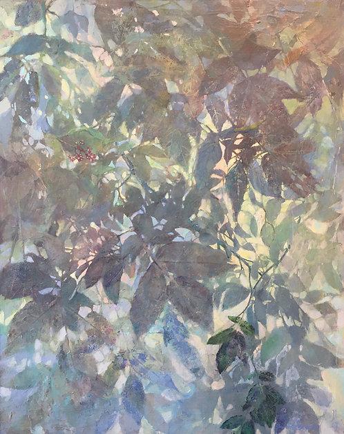 "Elderberry Bush, 30x24"""