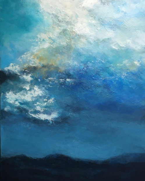 """Nothing But Blue Skies from Now On, 36x48"""""""