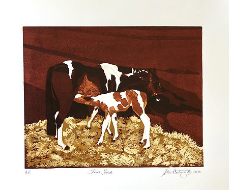 """First feed Edition #8 of 9- 12x9"""""""