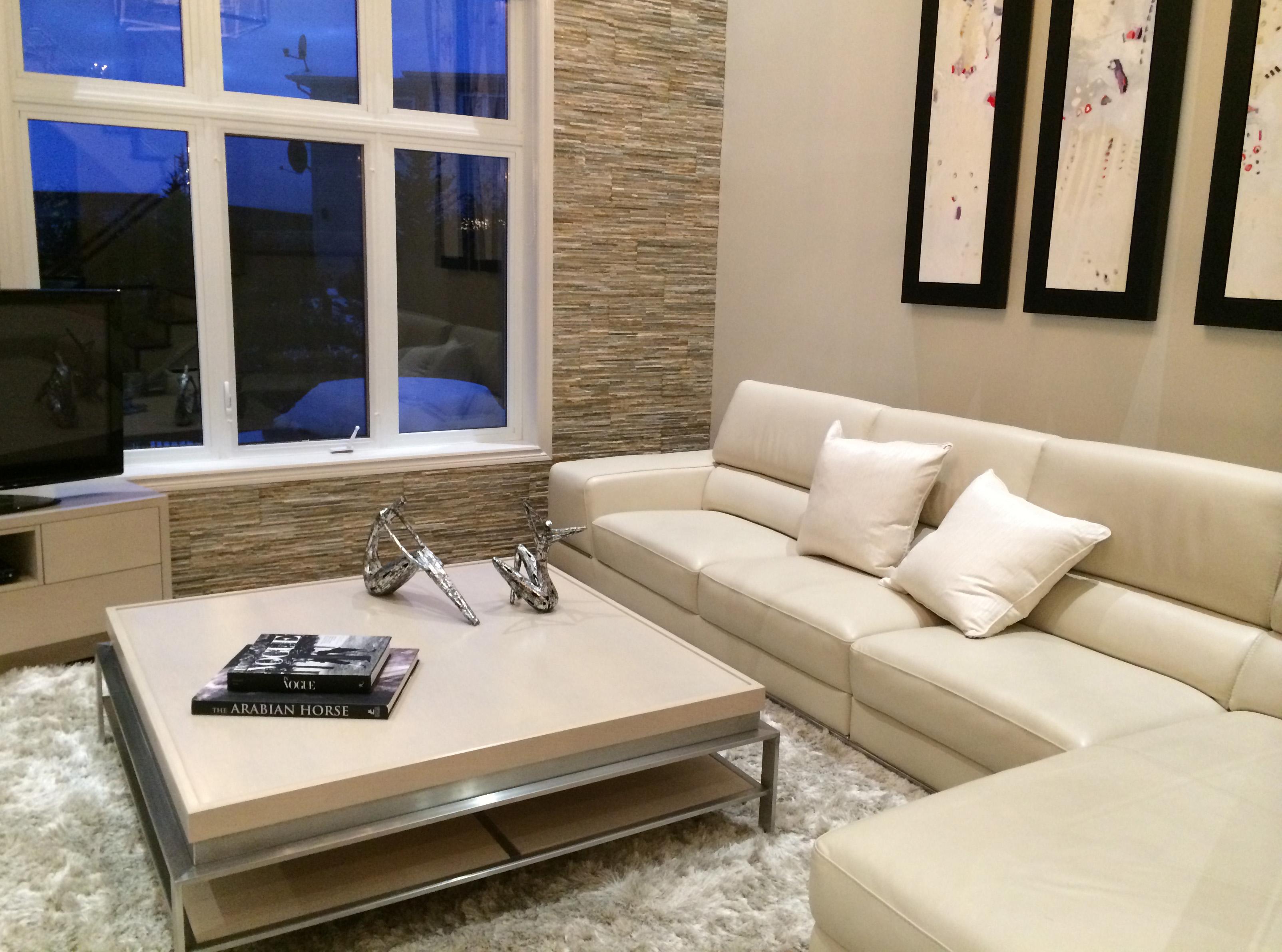 Modern home decor - Living Room and Coffee Table