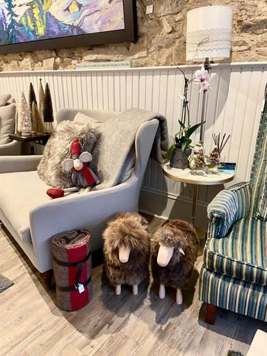 Sheep and decor