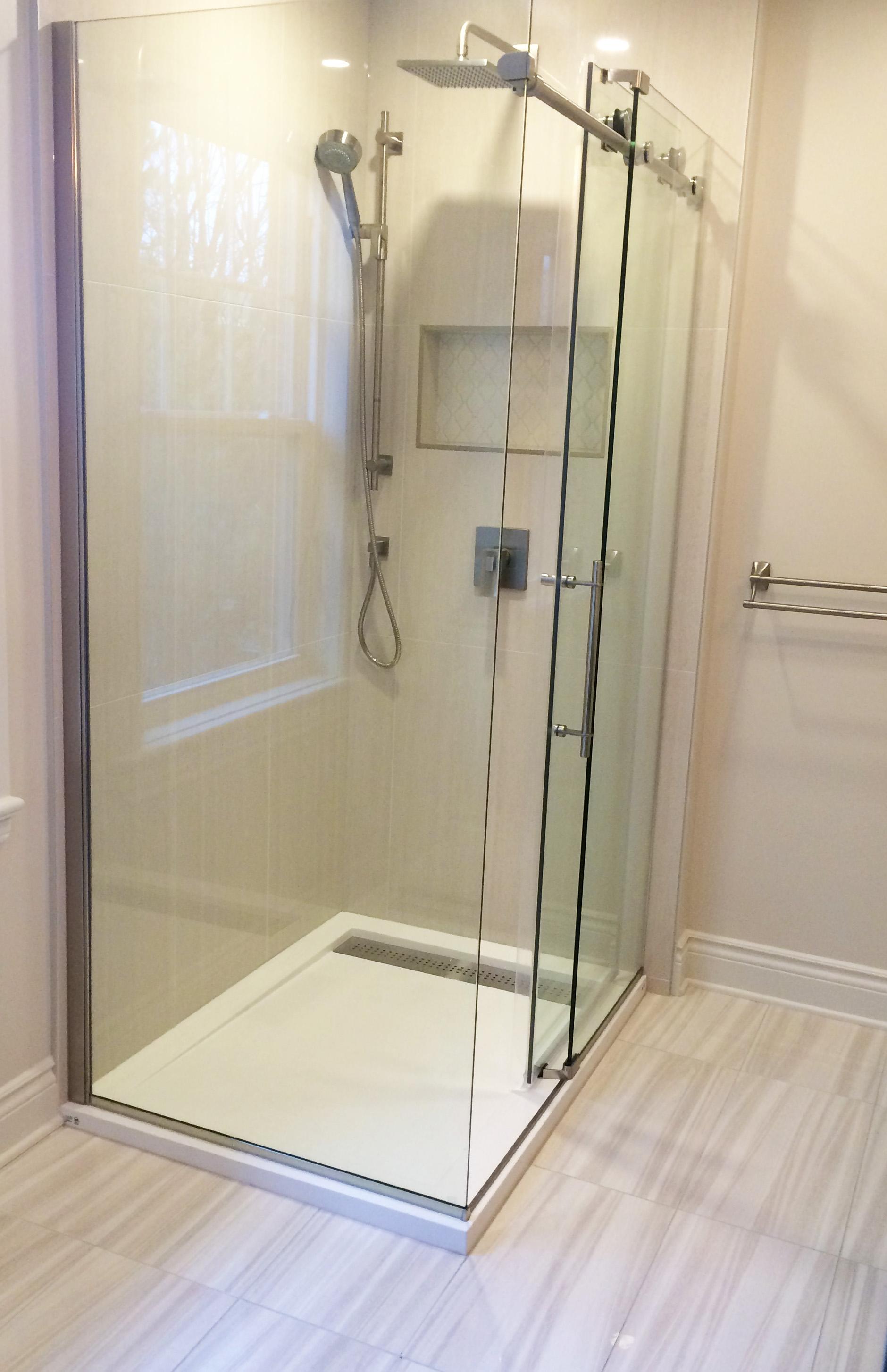 Bathroom - Glass Shower
