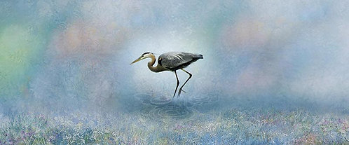 Heron in Pastel. , Edition #3 of 25