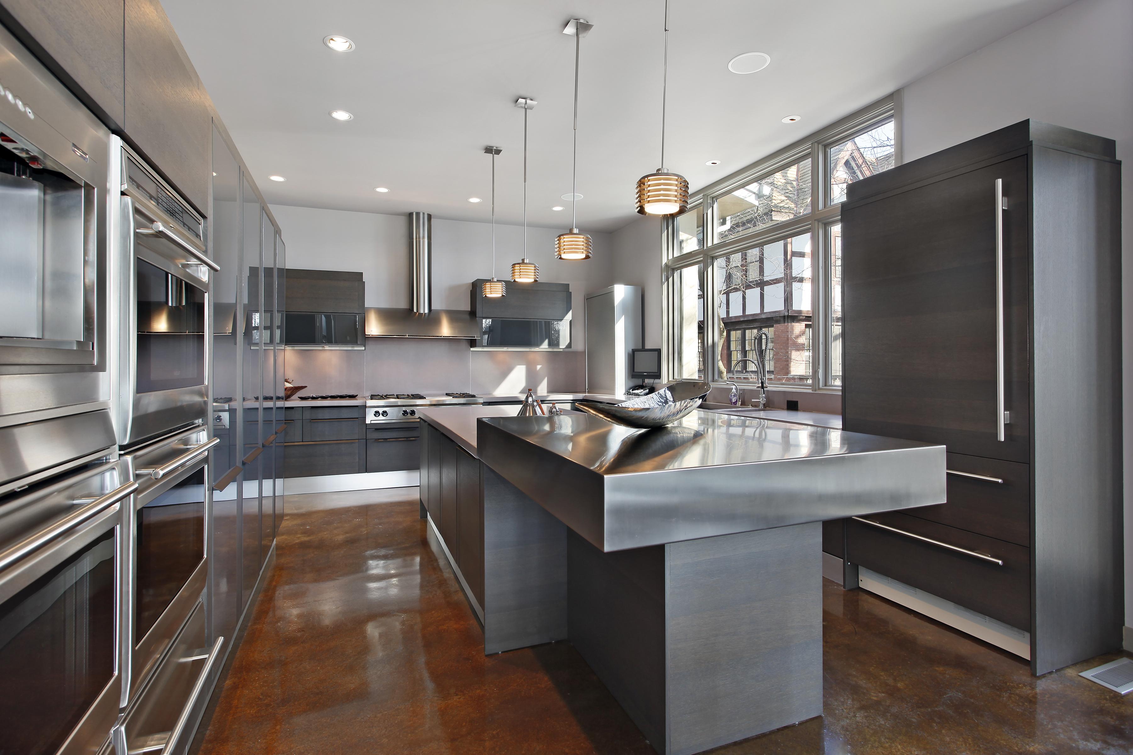 Stainless Steel - Modern Kitchen