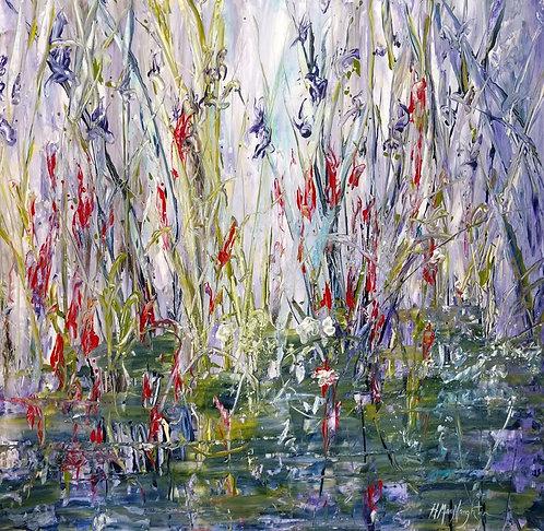Wild Flowers Along The Creek (1845)